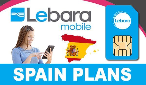 Lebara Mobile Spain Plans