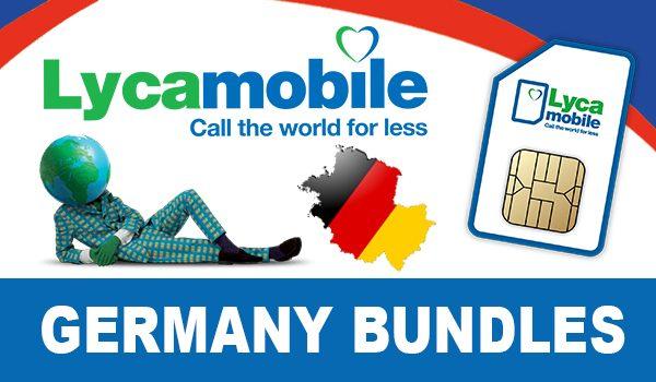 Lycamobile Germany Bundles