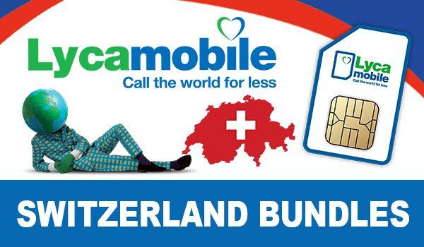 Lycamobile Switzerland Bundles