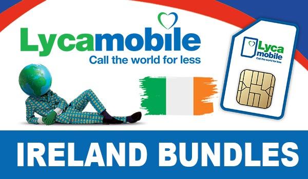 Lycamobile Ireland Bundles