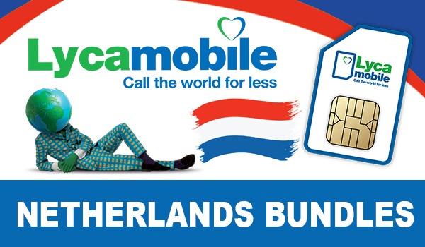 Lycamobile Netherlands Bundles