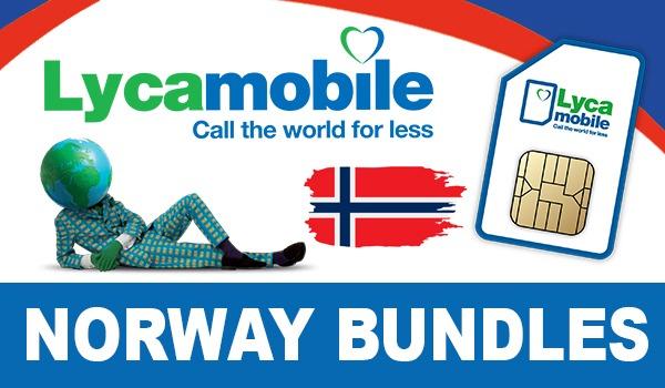 Lycamobile Norway Bundles
