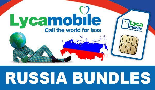 Lycamobile Russia Bundles