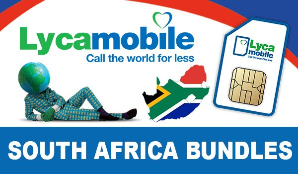 Lycamobile South Africa Bundles