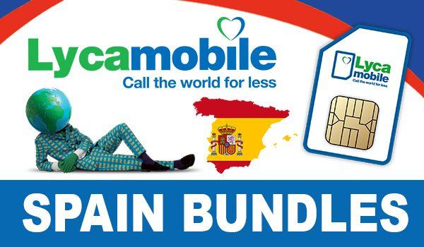 Lycamobile Spain Bundles