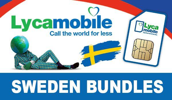 Lycamobile Sweden Bundles
